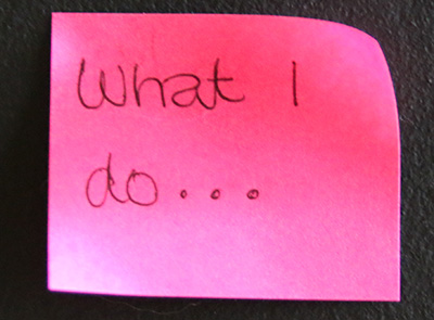 what-i-do-postit